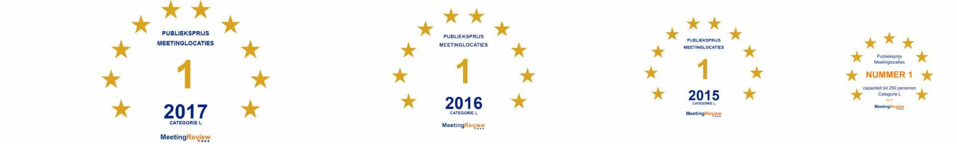 Publieksprijs 2014 - 2017 Kaap Doorn